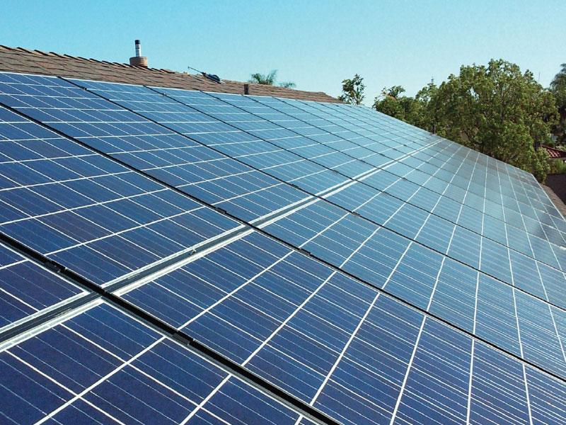Lắp đặt hệ thống điện năng lượng mặt trời cho hộ gia đình