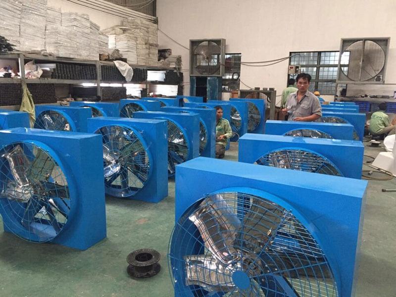 Top 4 hãng quạt thông gió công nghiệp vuông tốt nhất cho nhà xưởng