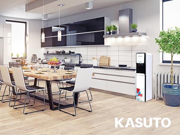 máy lọc nước Kasuto KSW-04106C mang đến nguồn nước nóng lạnh cho người dùng